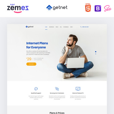 Website Template № 94209