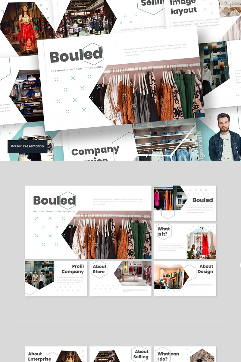 Bouled PowerPoint Template