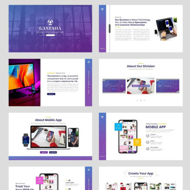 Template Electronice Keynote Templates #94730
