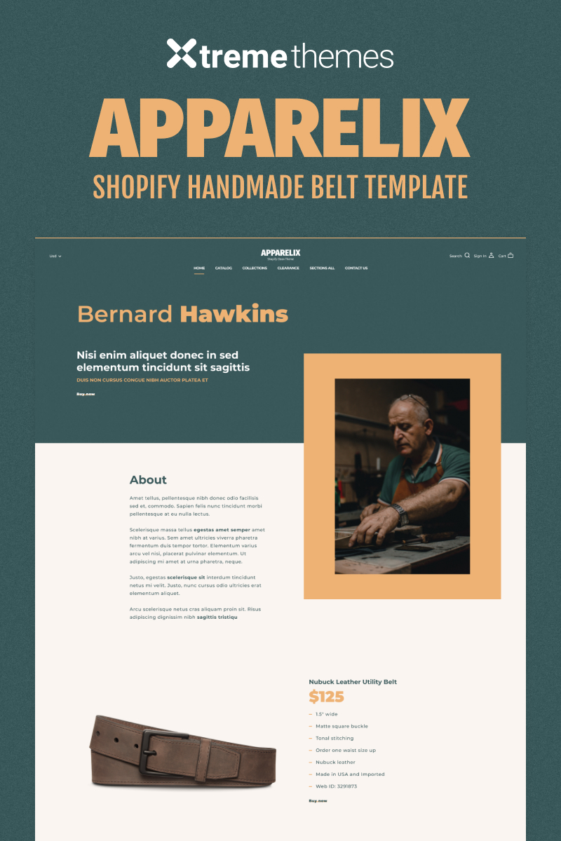 One Product Shopify Store Shopify Theme