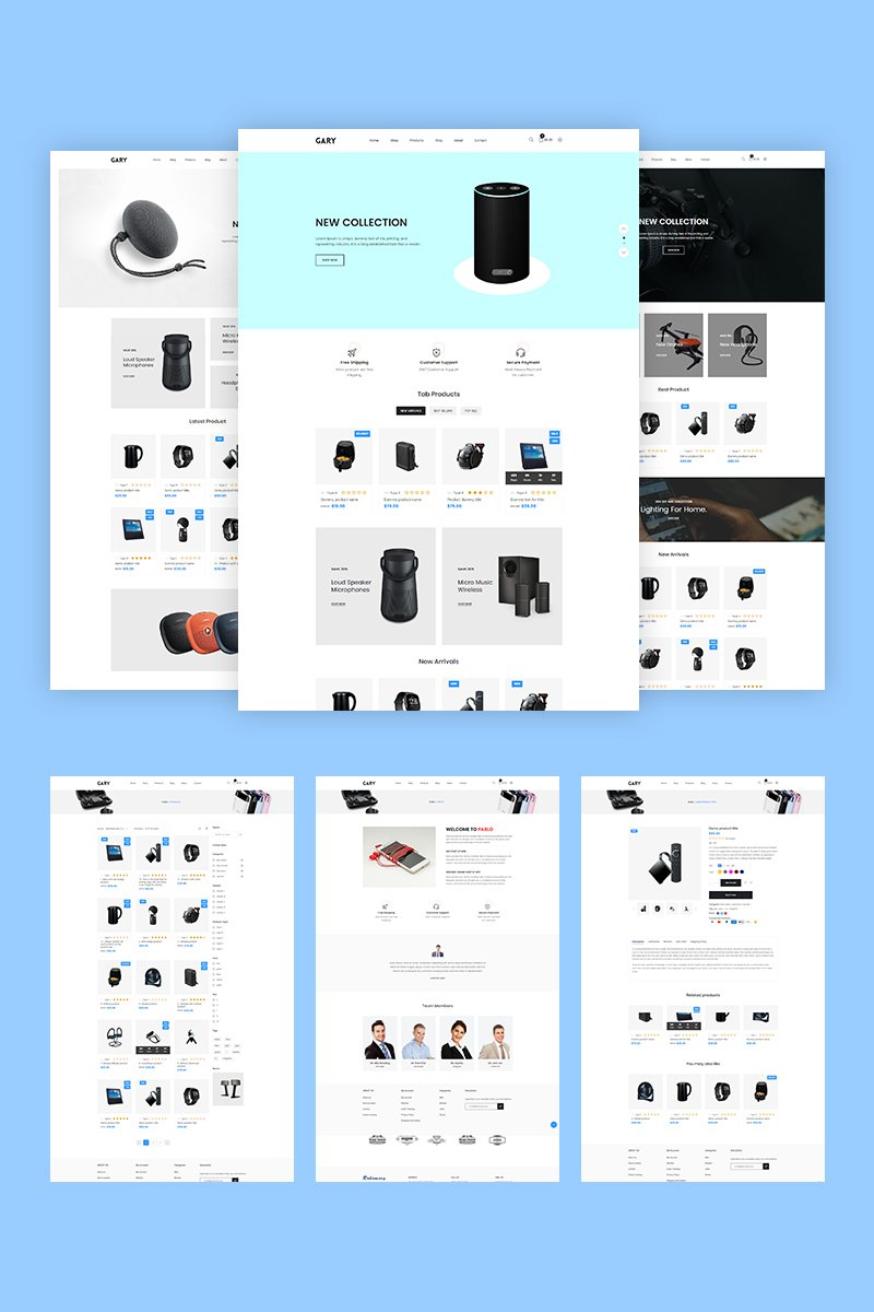 Gary - Electronics Shopify Theme