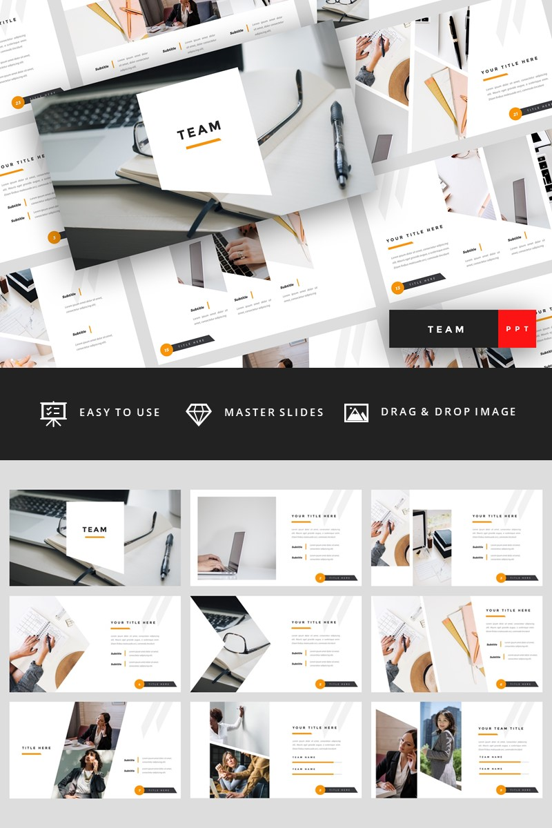 Team - Business PowerPoint Template