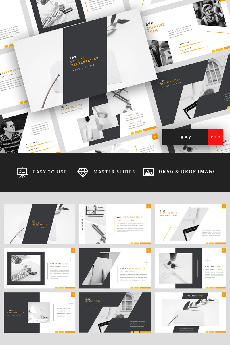 Ray - Stylish PowerPoint Template