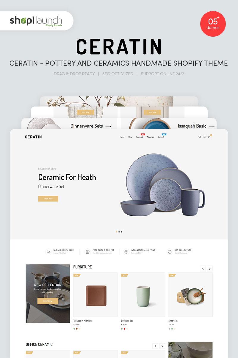 Ceratin - Pottery and Ceramics Handmade Shopify Theme