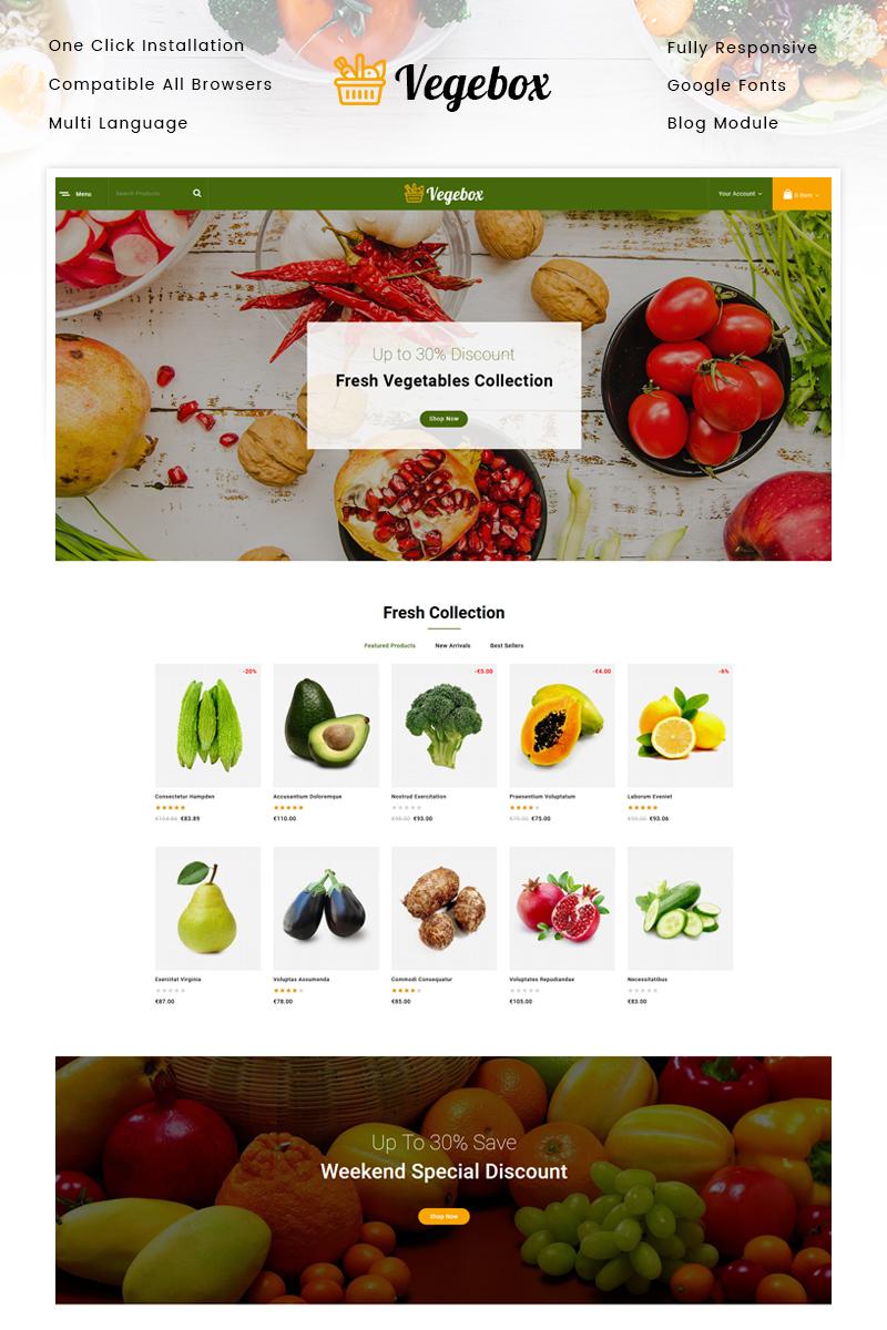 Vegebox - Vegetables Store PrestaShop Theme