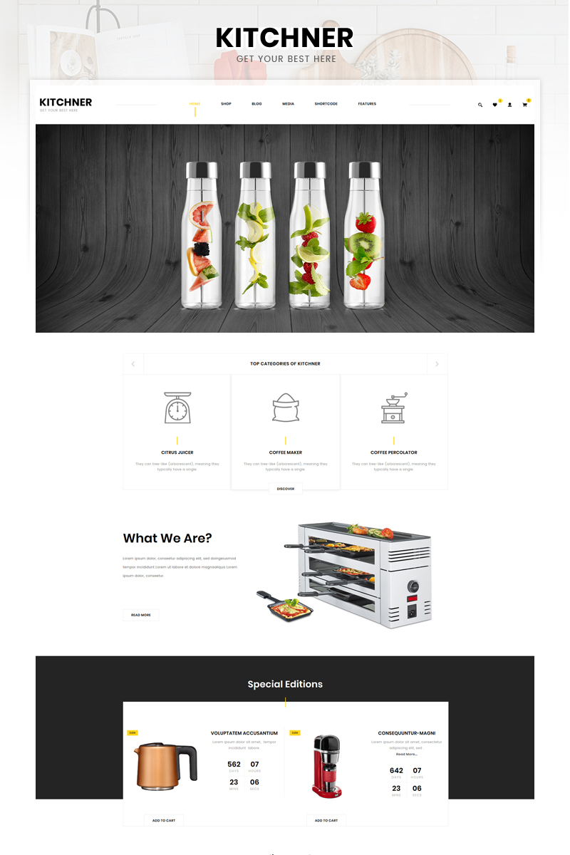 Kitchner - Kitchen Appliances Store WooCommerce Theme