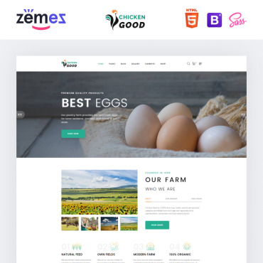 Website Template № 95263