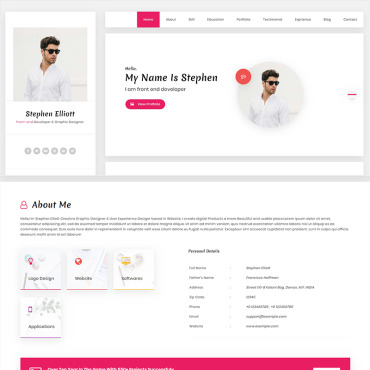 Website Template № 95291