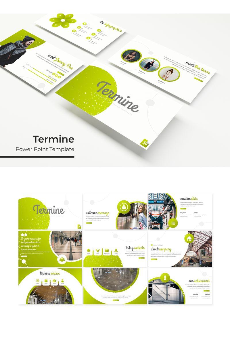 Termine PowerPoint Template