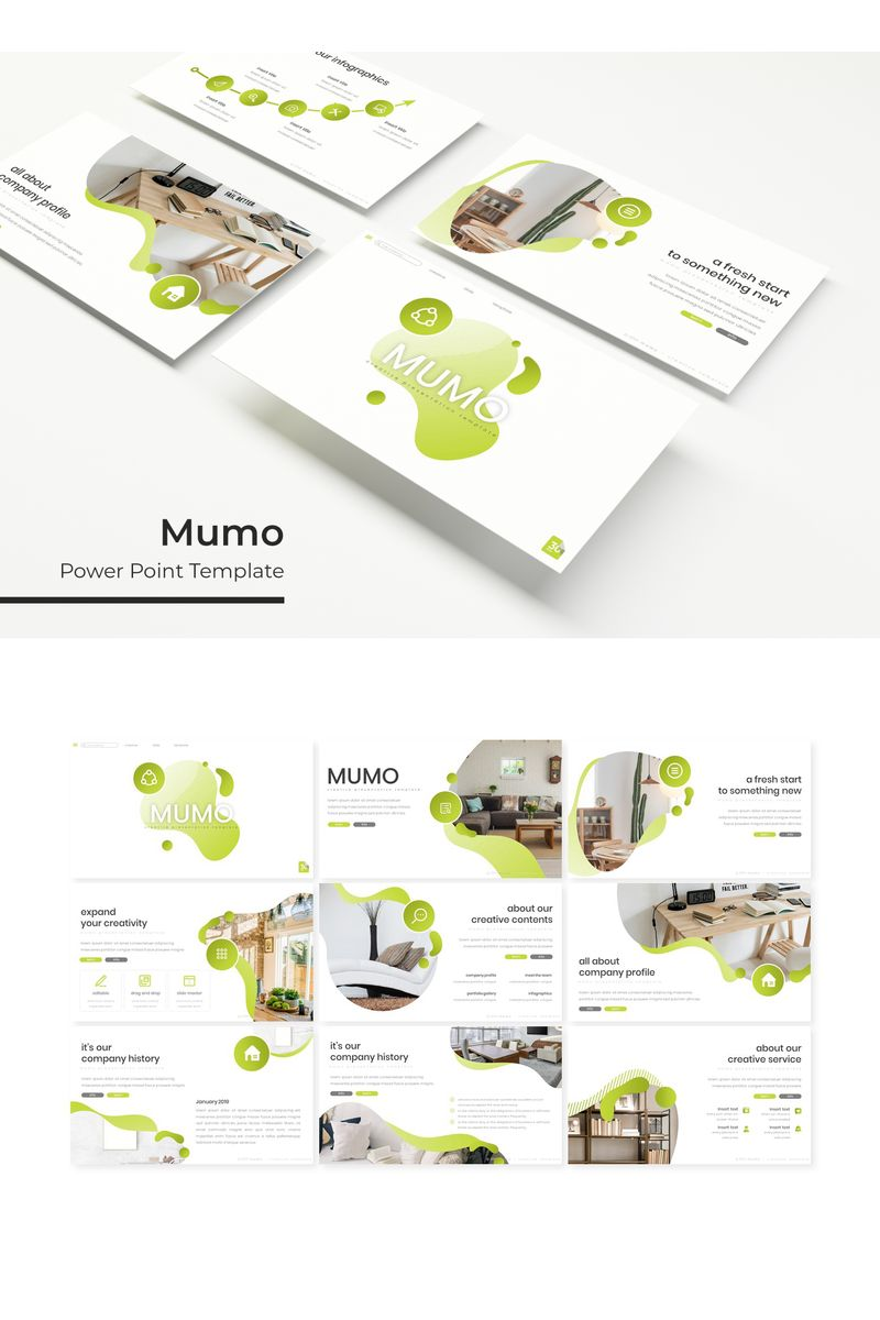 Mumo PowerPoint Template