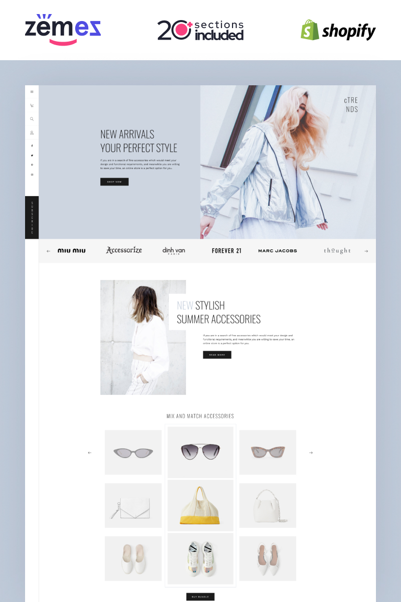 Shopify Lookbook Carousel Template Shopify Theme
