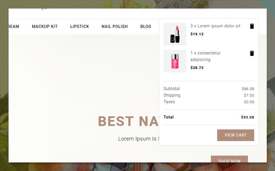 Parlop Cosmetics Store PrestaShop Theme
