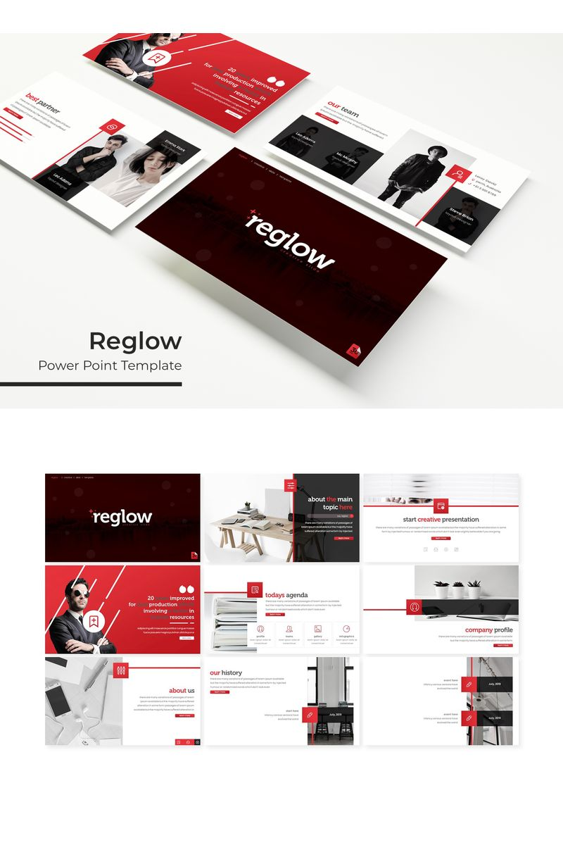 Reglow PowerPoint Template