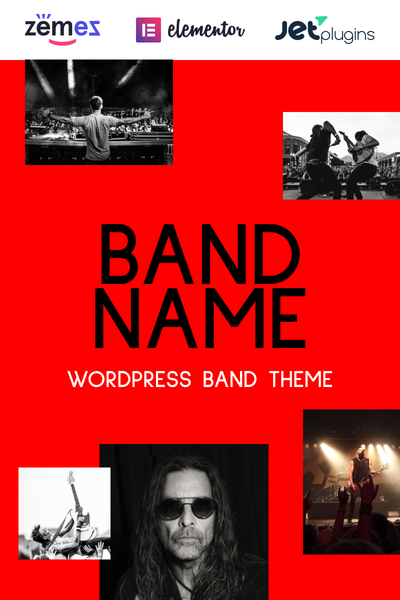 Freebone - Wordpress Music Band WordPress Theme