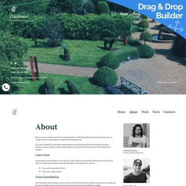 Website Template № 96157