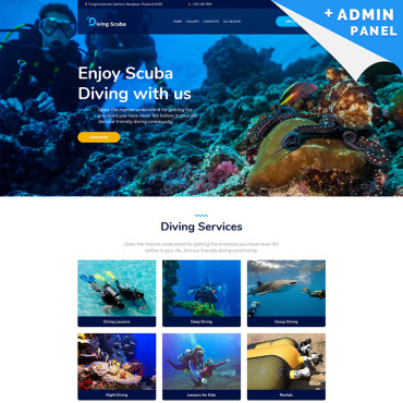 Website Template № 96285