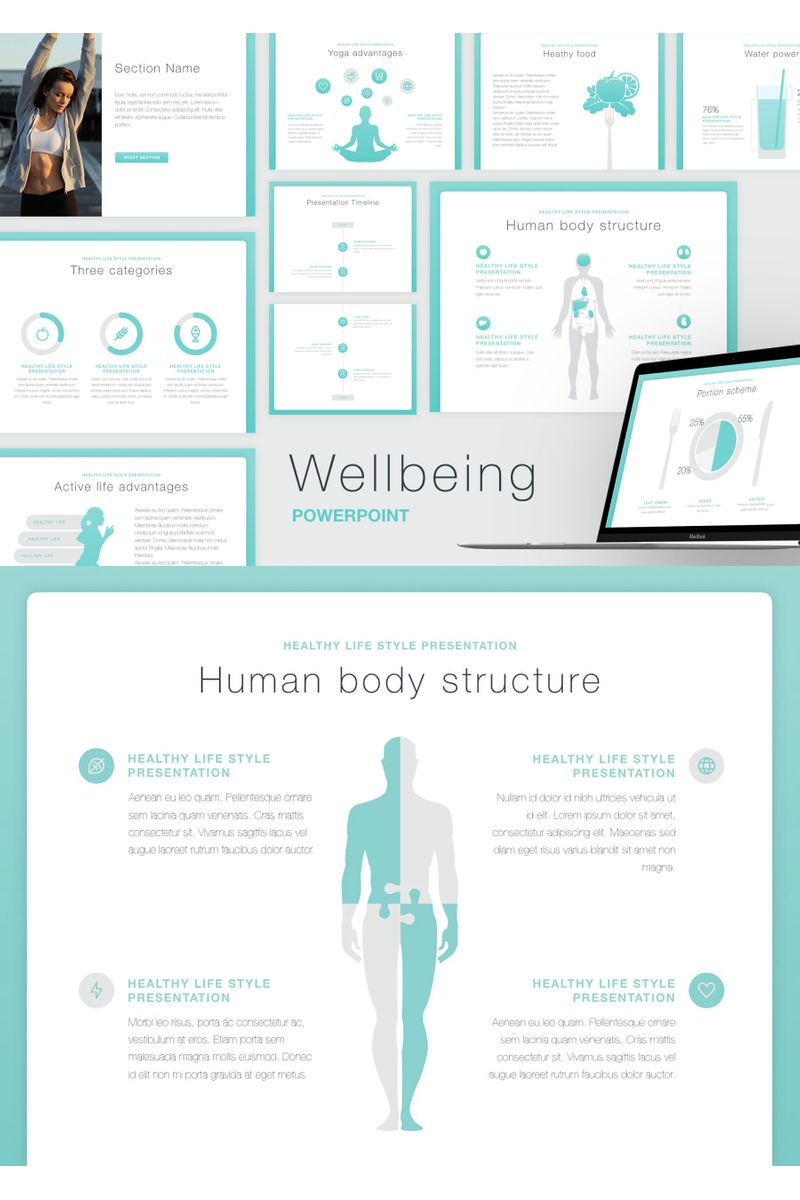 Wellbeing PowerPoint Template