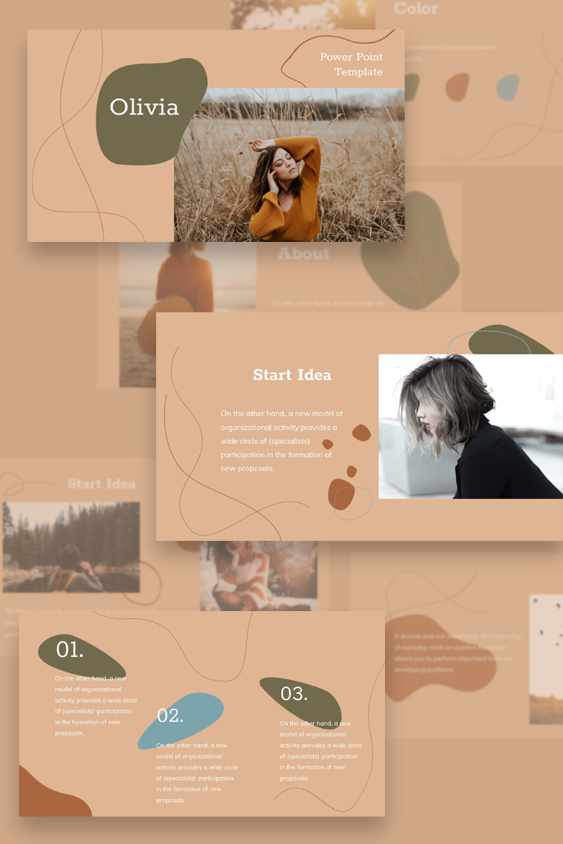 Olivia PowerPoint Template