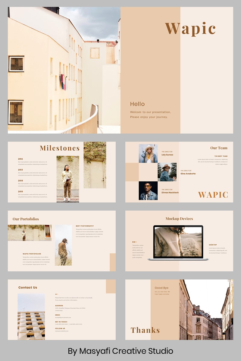 Wapic PowerPoint Template
