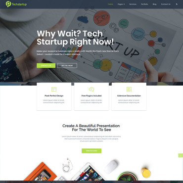 Template Software WordPress #97211