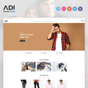 Website Template № 97389