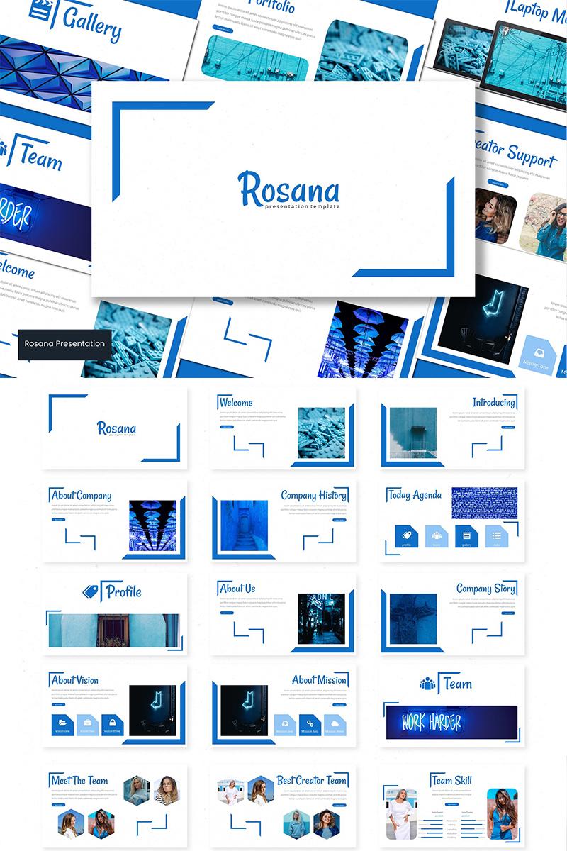 Rosana PowerPoint Template