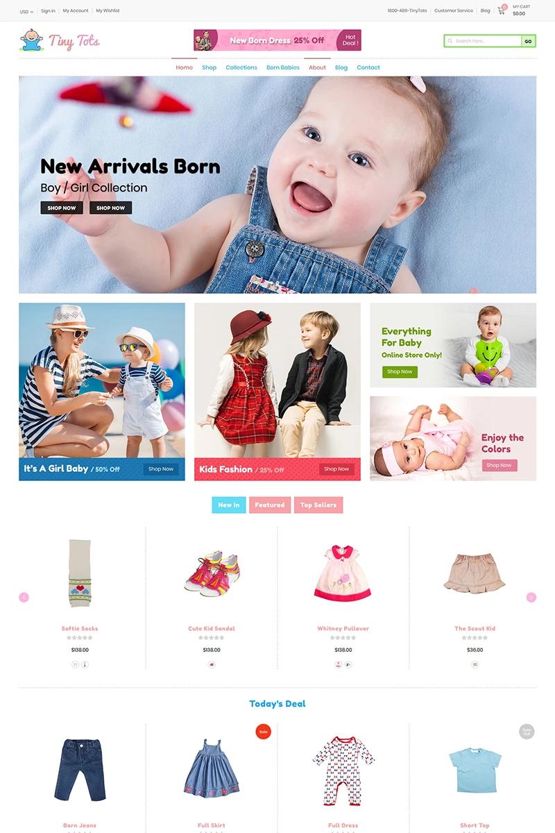 TinyTots - Kids & Baby Shopify Theme