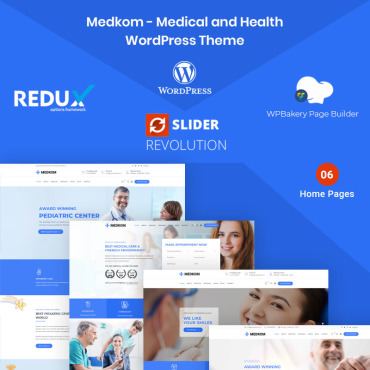 Template Medicină WordPress #97870