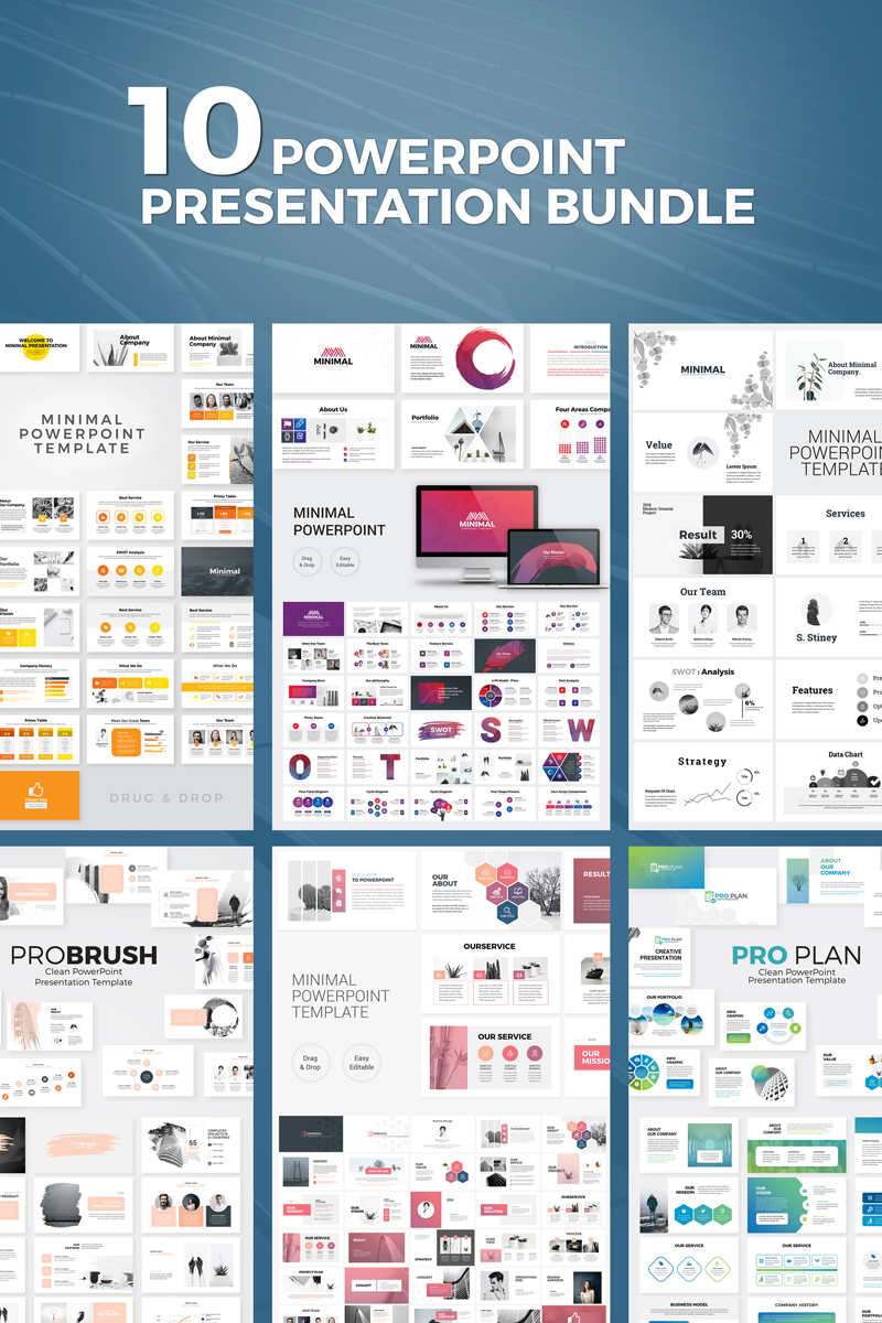 Presentation Bundle PowerPoint Template