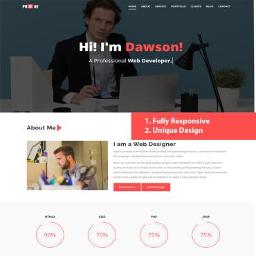 Website Template № 98143