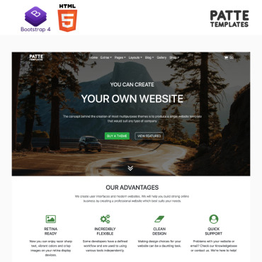 Website Template № 98271