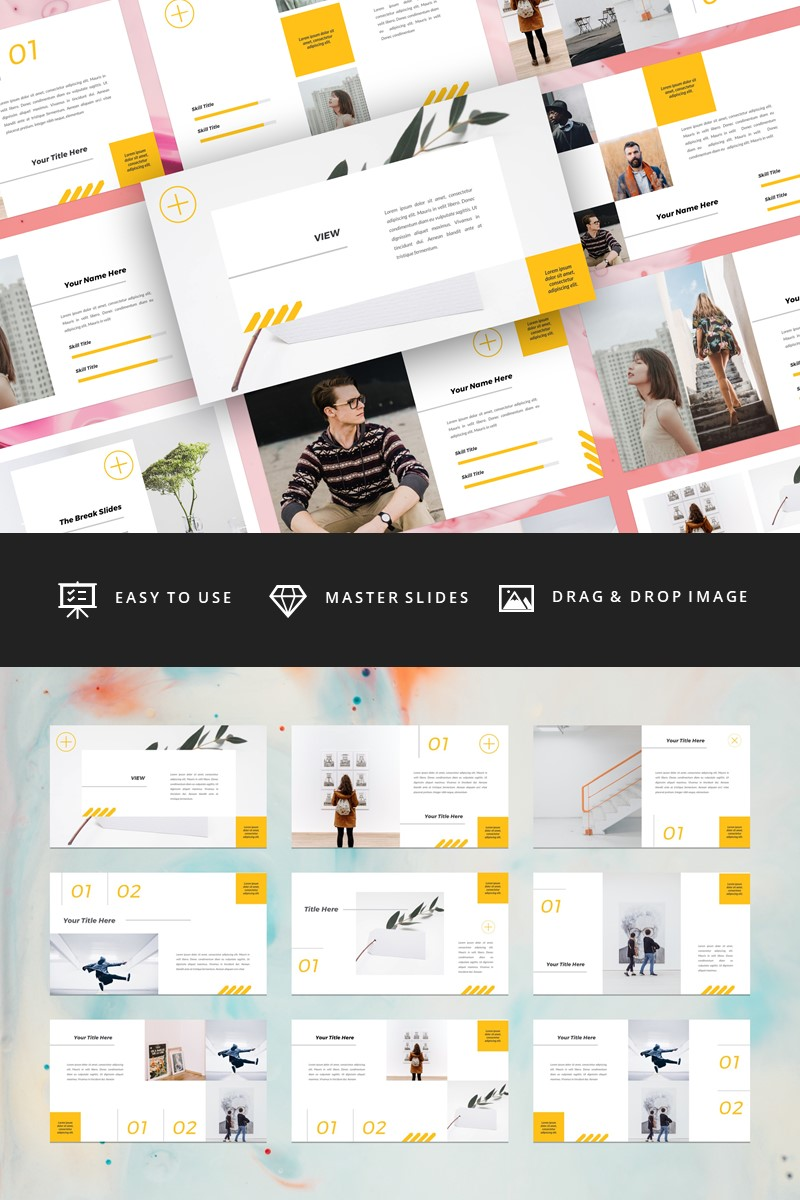 View - Creative PowerPoint Template