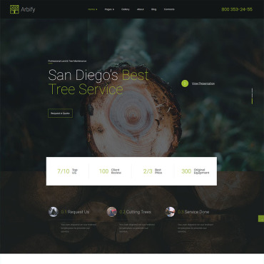 Website Template № 98415