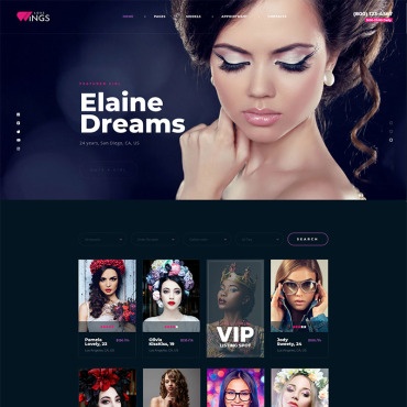 Template Modă WordPress #98481