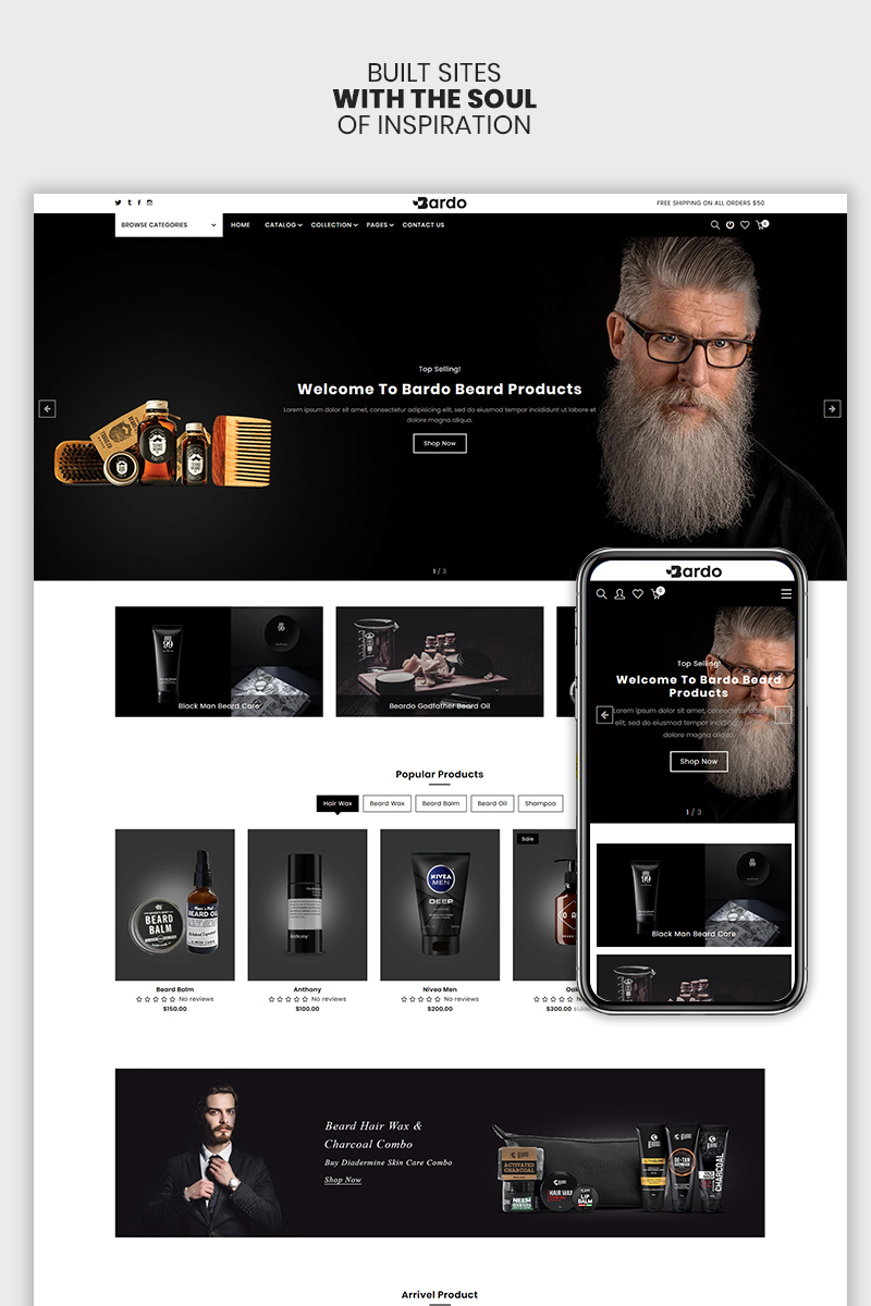 Bardo - The Beardo & Fashion Premium Shopify Theme