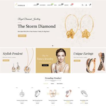 Template Frumusețe Shopify #98587