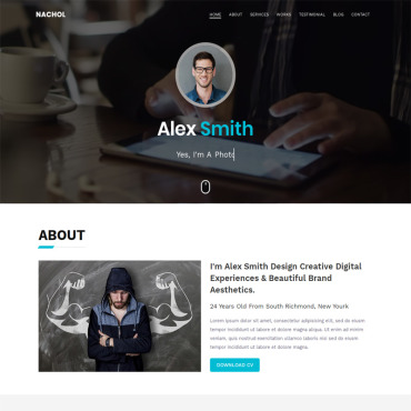 Website Template № 98590