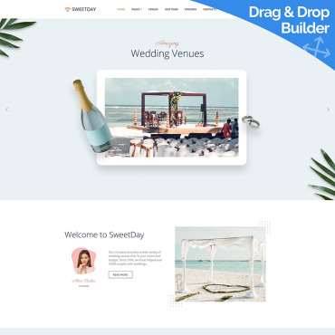 Website Template № 98673