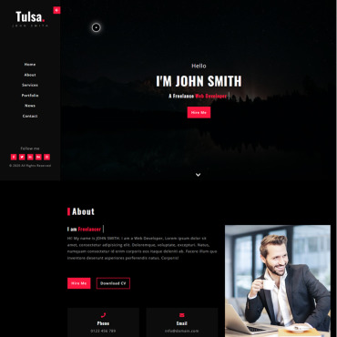 Website Template № 98799