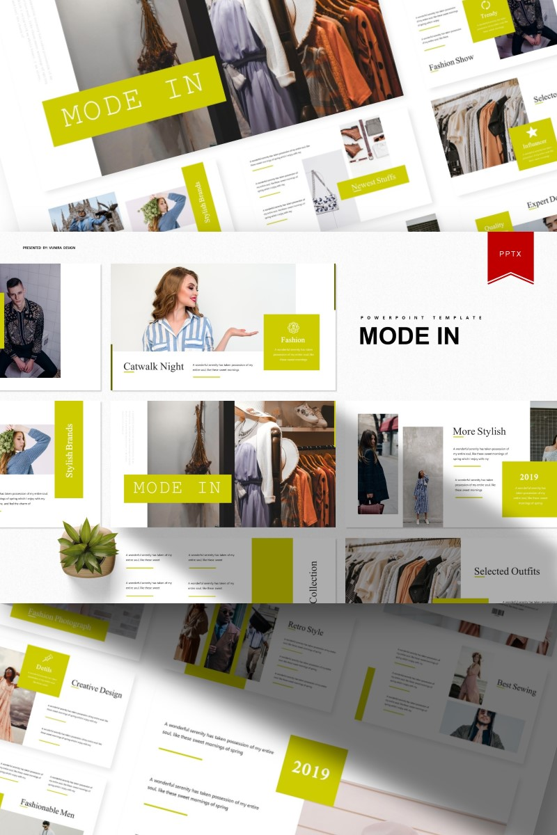 Mode In | PowerPoint Template