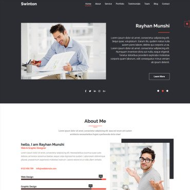 Website Template № 98858
