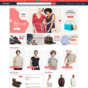 Template Electronice WooCommerce #98939