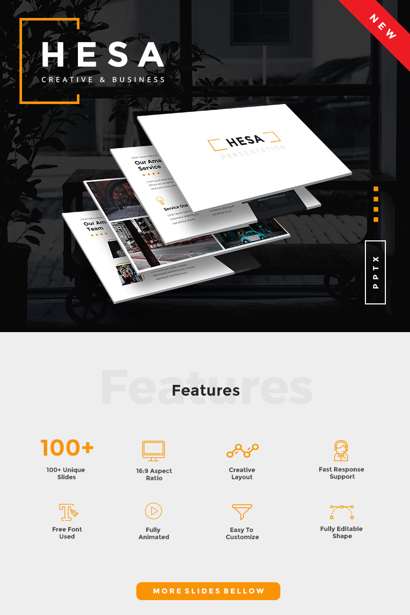 Hesa Creative & Business PowerPoint Template