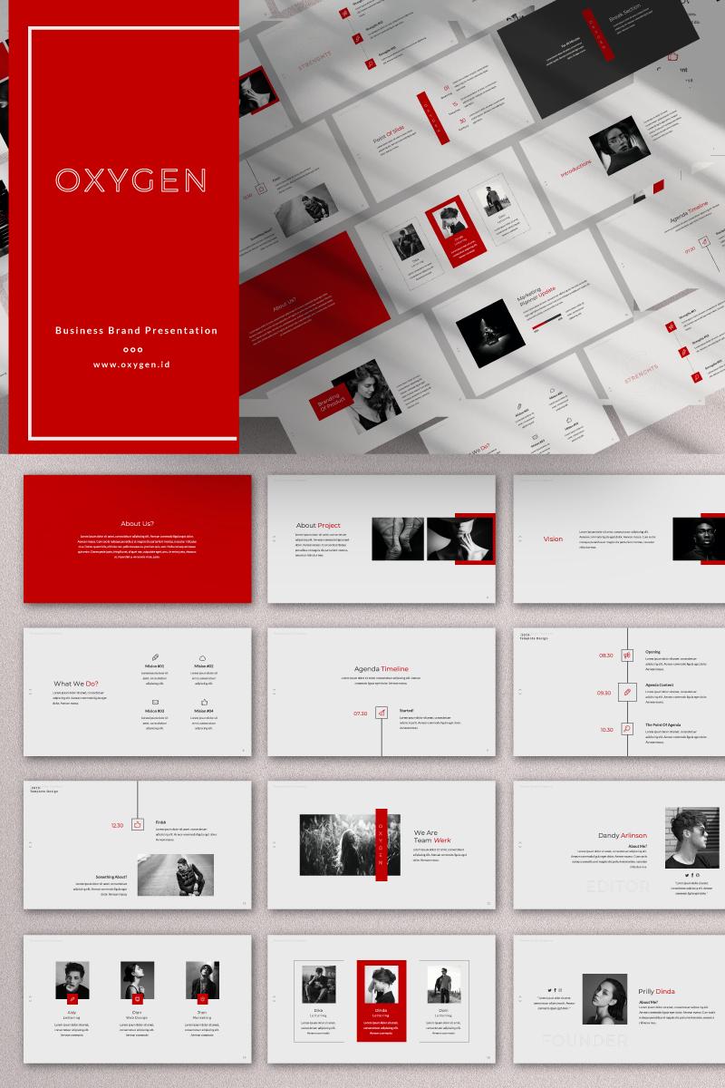 OXYGEN Presentation PowerPoint Template