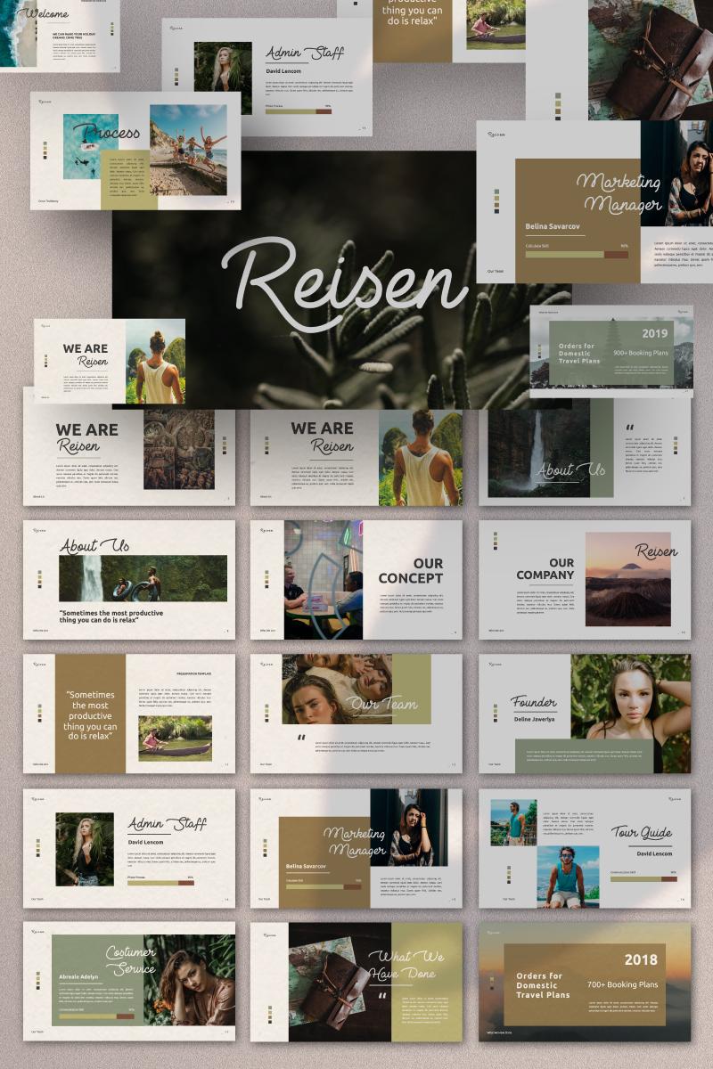 REISEN Presentation PowerPoint Template