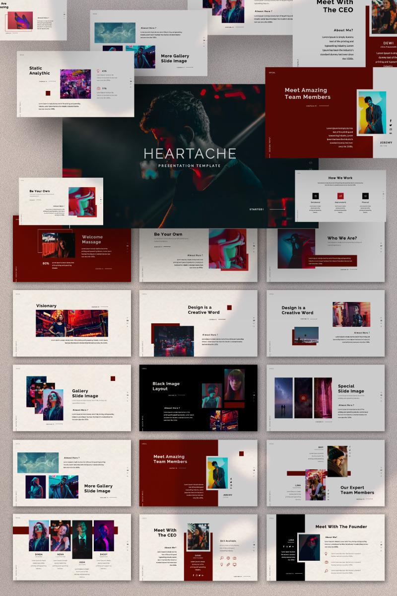 HEARTACHE Presentation PowerPoint Template