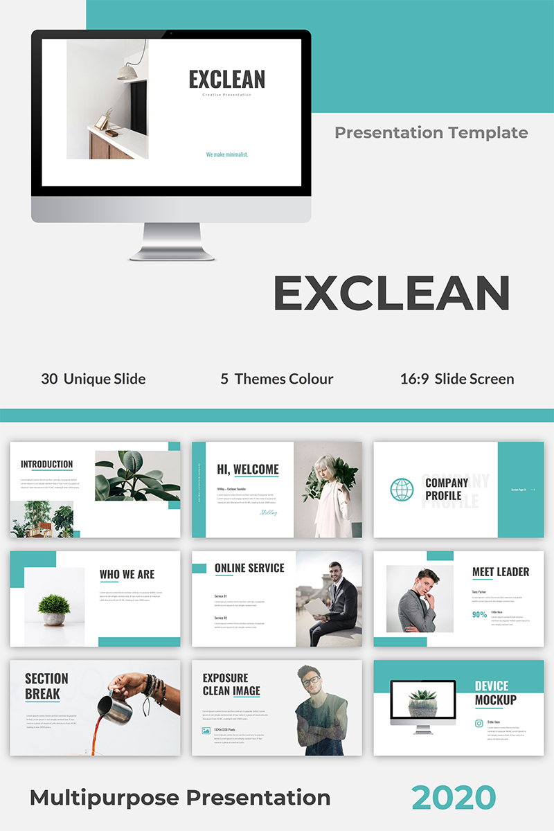 Exclean PowerPoint Template