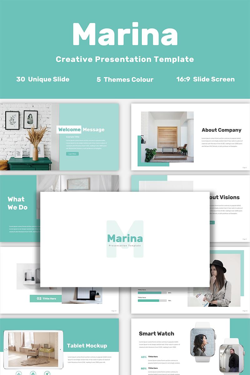 Marina PowerPoint Template