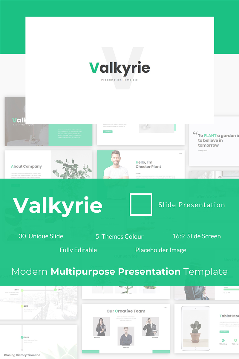Valkyrie PowerPoint Template
