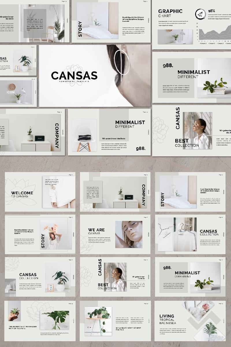 CANSAS Presentation PowerPoint Template